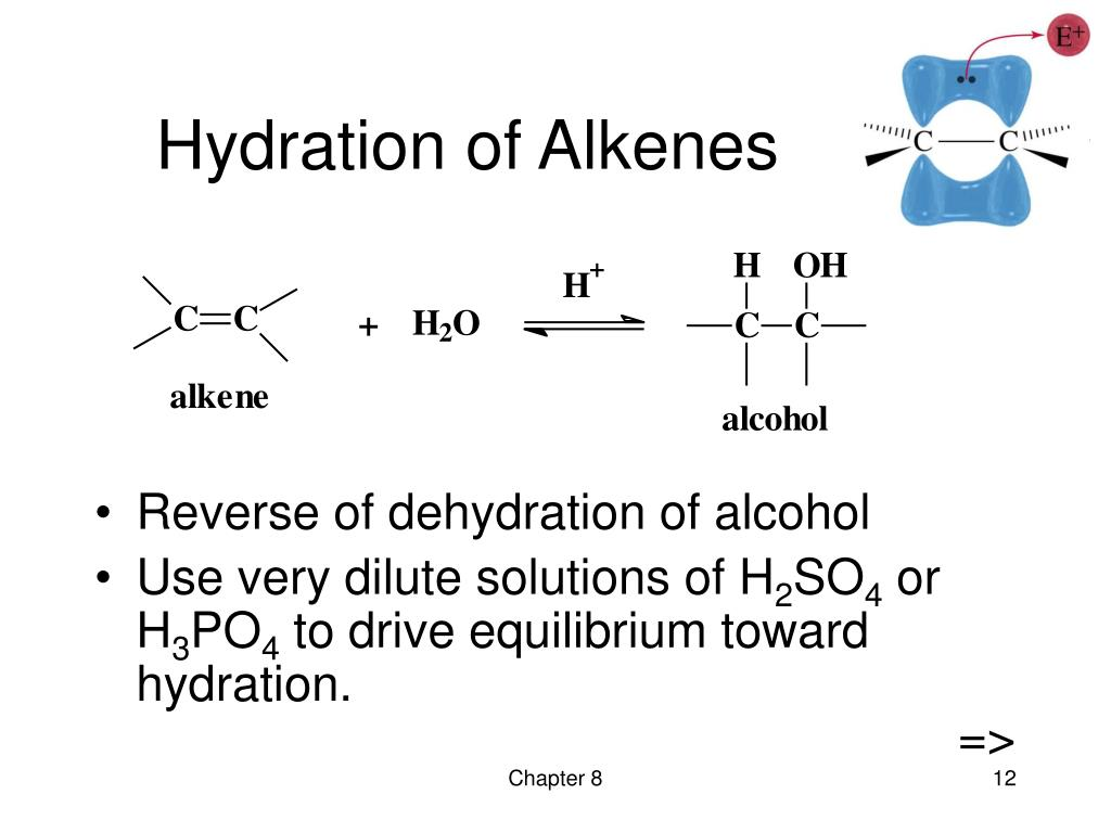 Hydration of Alkenes