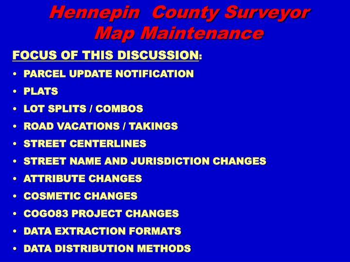 Hennepin county surveyor map maintenance2