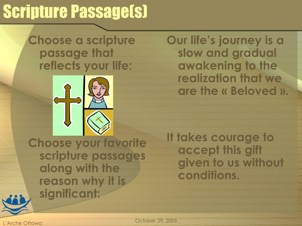 Scripture Passage(s)