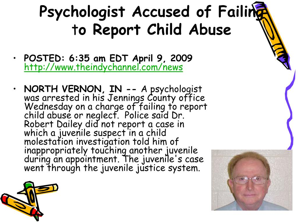 Psychologist Accused