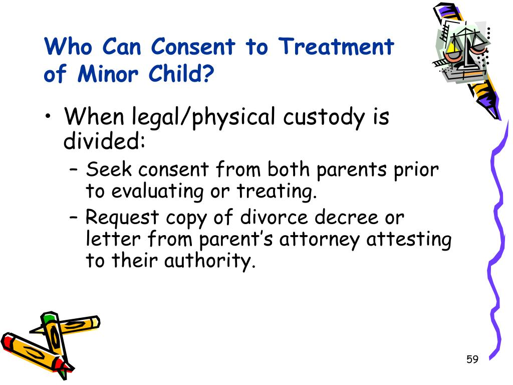 Who Can Consent to Treatment