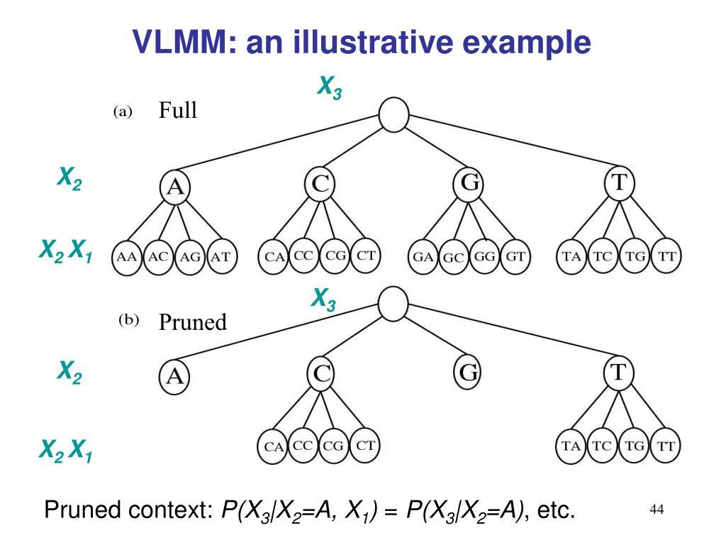 VLMM: an illustrative example