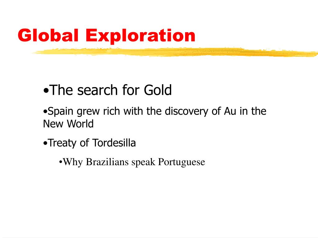 Global Exploration