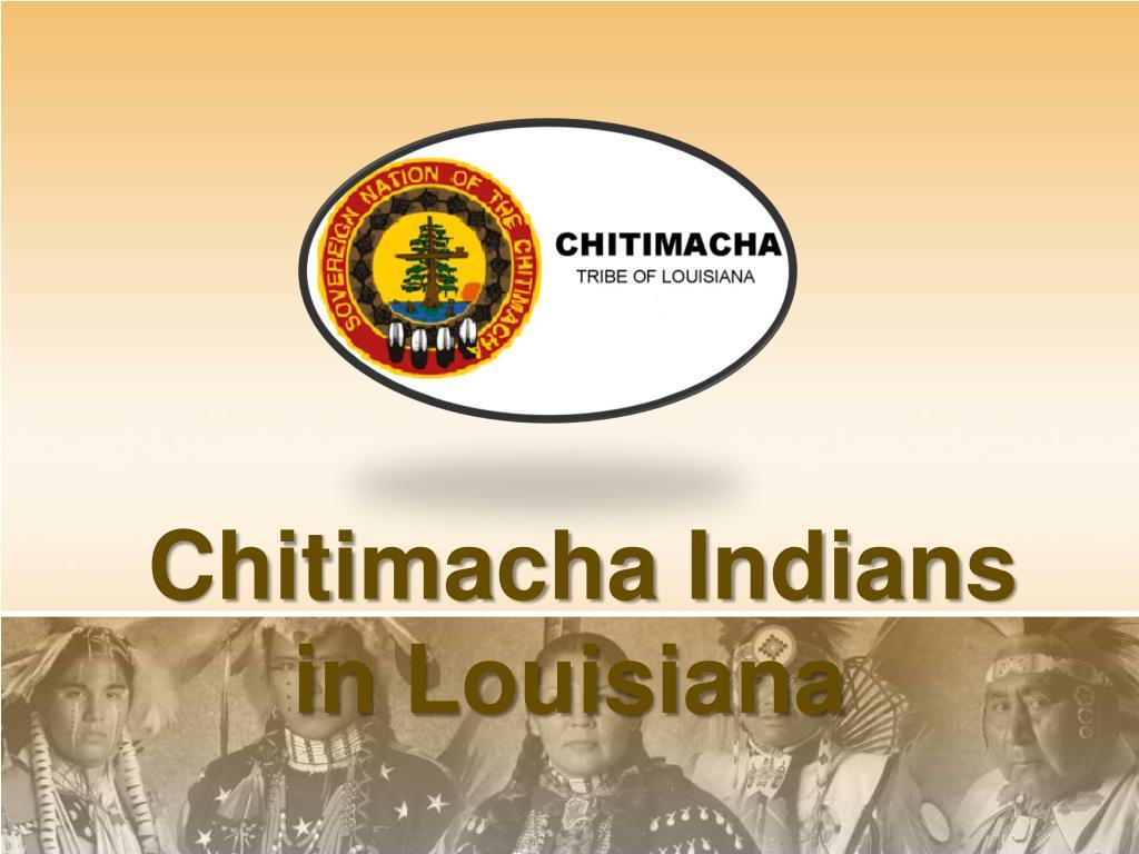 chitimacha indians in louisiana l.