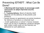 preventing idtheft what can be done28