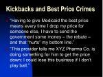 kickbacks and best price crimes23