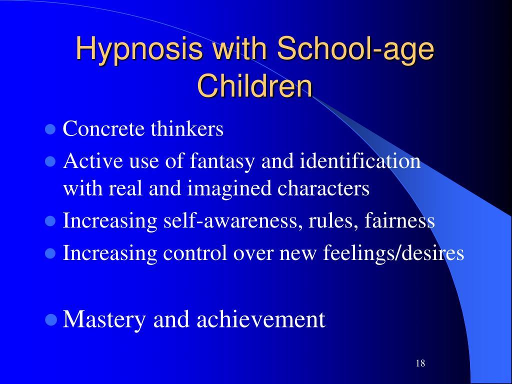 PPT - Hypno-Potamize Pediatric Hypnosis Helping Children ...