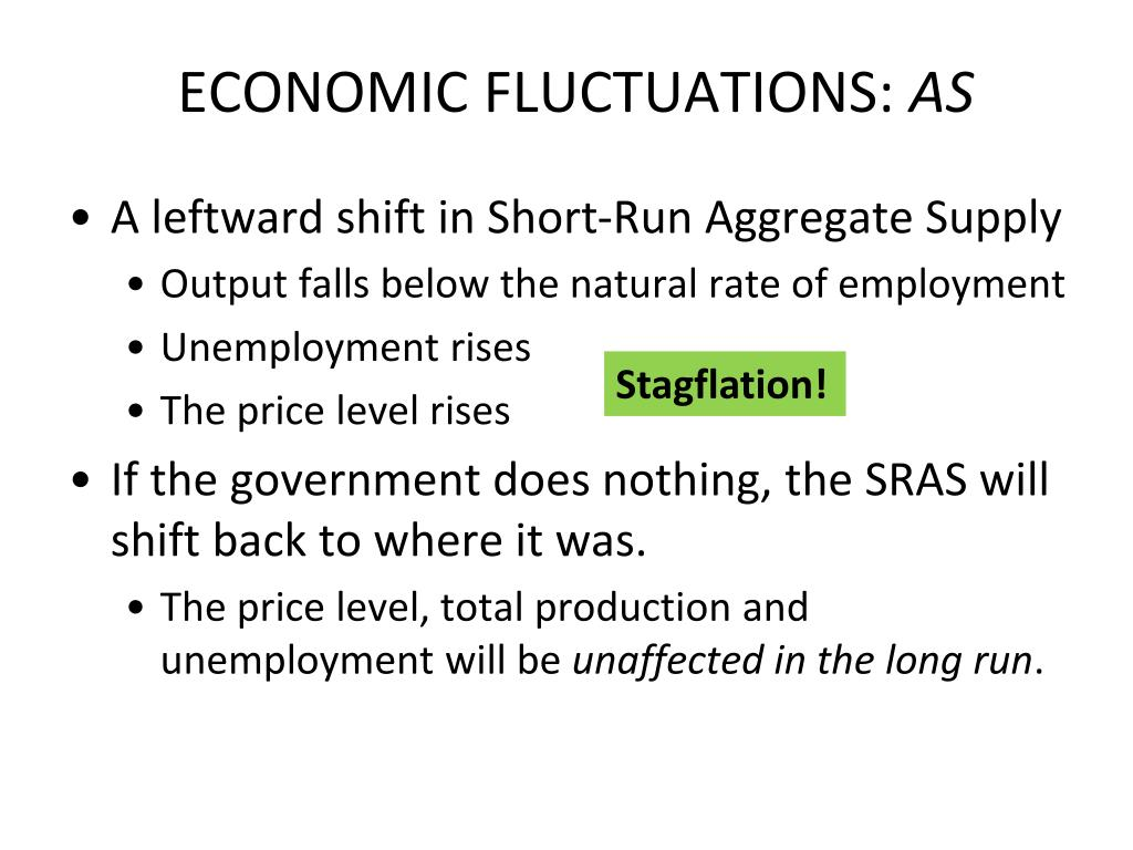 ECONOMIC FLUCTUATIONS: