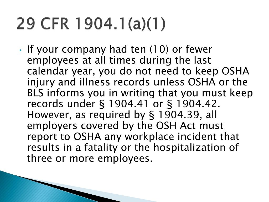 29 CFR 1904.1(a)(1)