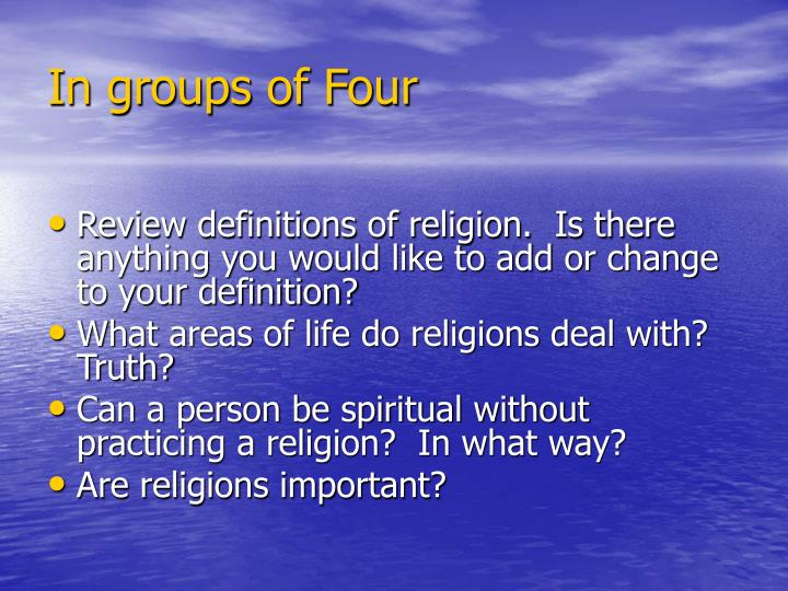 why is religion important Religious orthodoxy has always adhered to prescribed rules of thinking, which is not bad unless this attitude harshly outlaws other forms of thinking and lifestyles outside its scope.