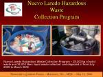 nuevo laredo hazardous waste collection program16