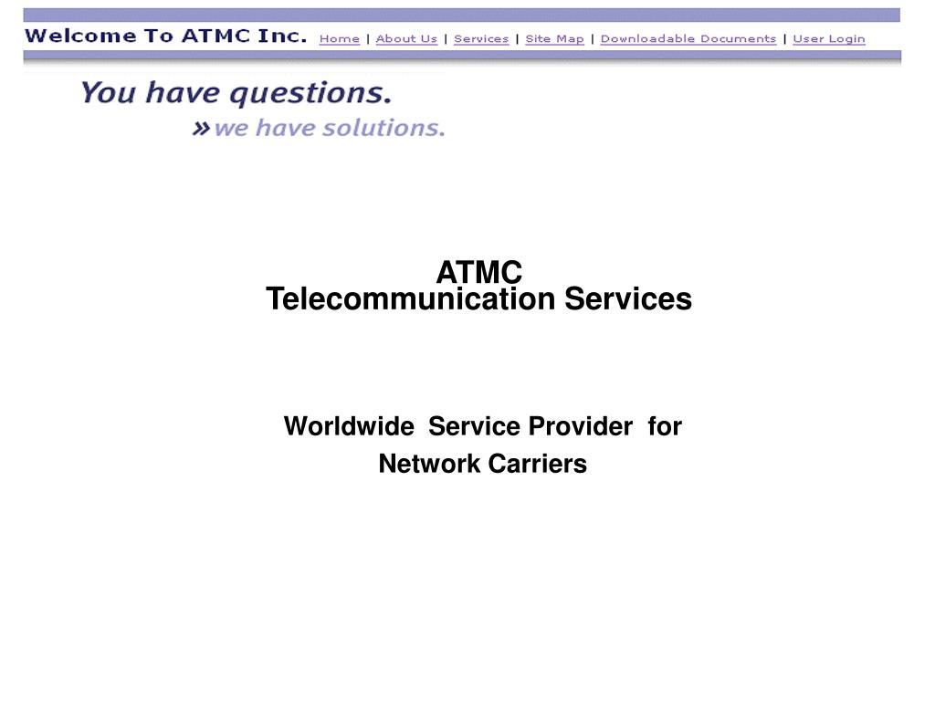 atmc telecommunication services l.