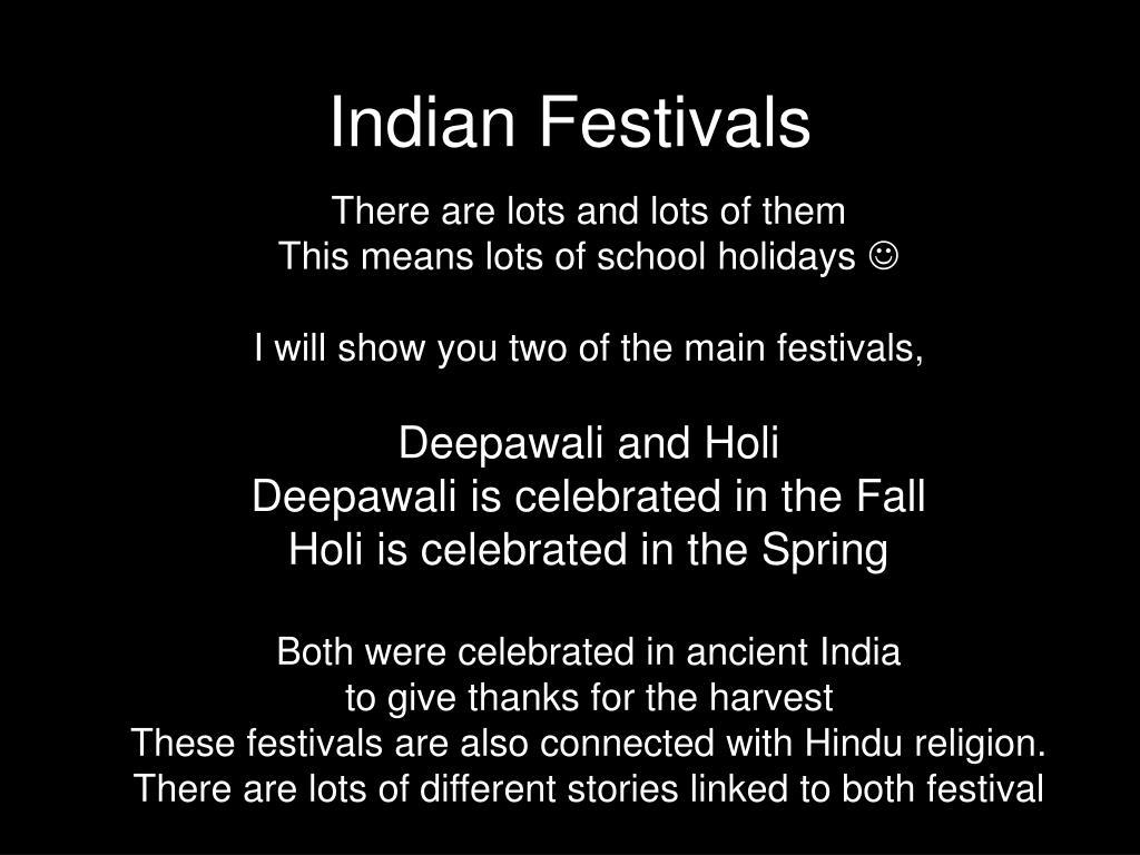 indian festivals l.