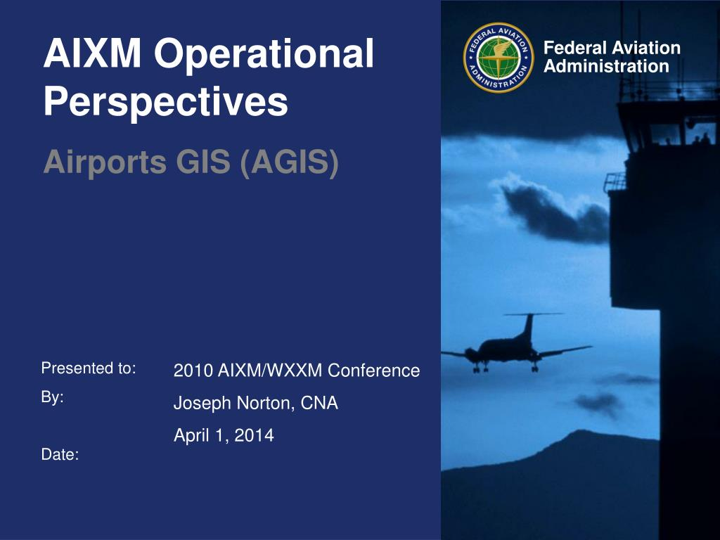 AIXM Operational Perspectives