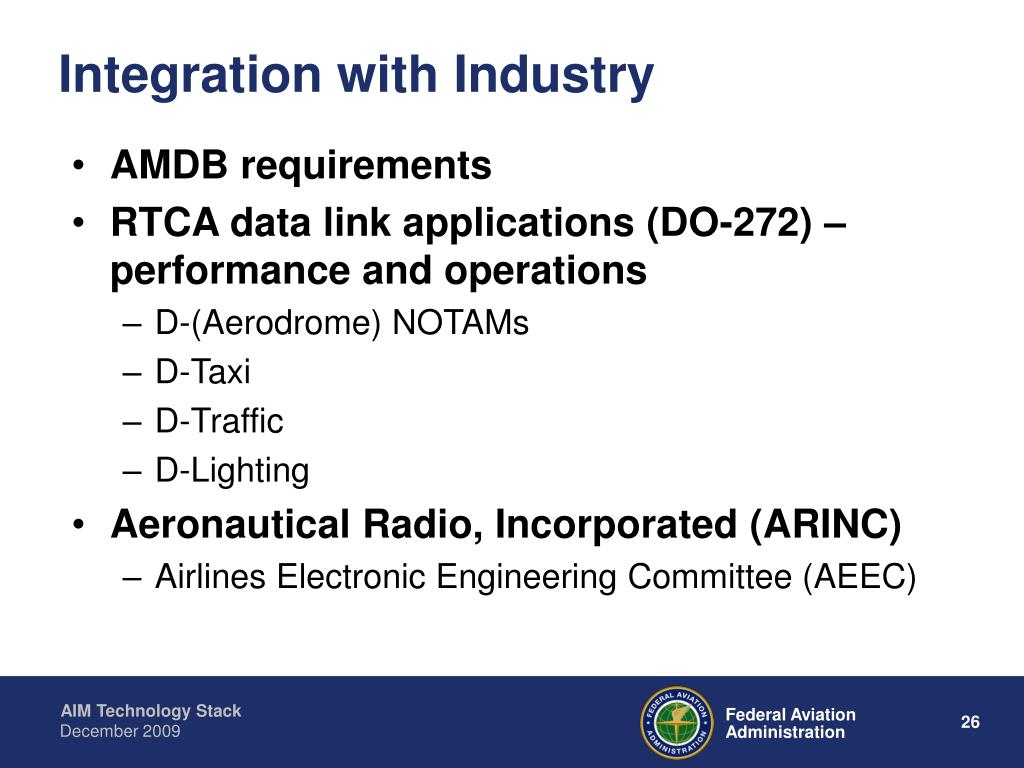 Integration with Industry