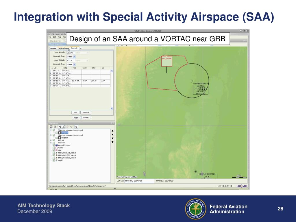 Integration with Special Activity Airspace (SAA)
