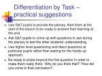 differentiation by task practical suggestions23