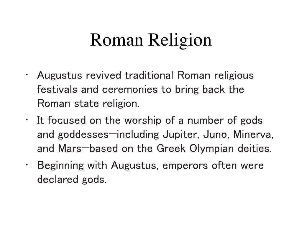 roman religion l.