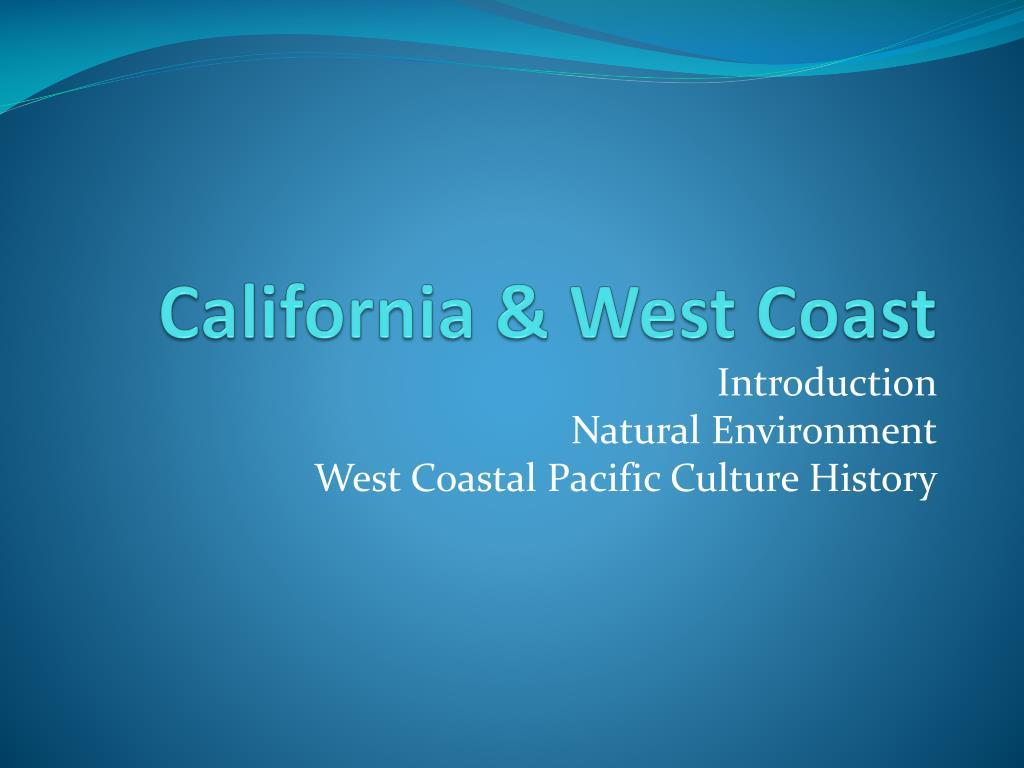 california west coast l.