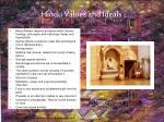 hindu values and ideals