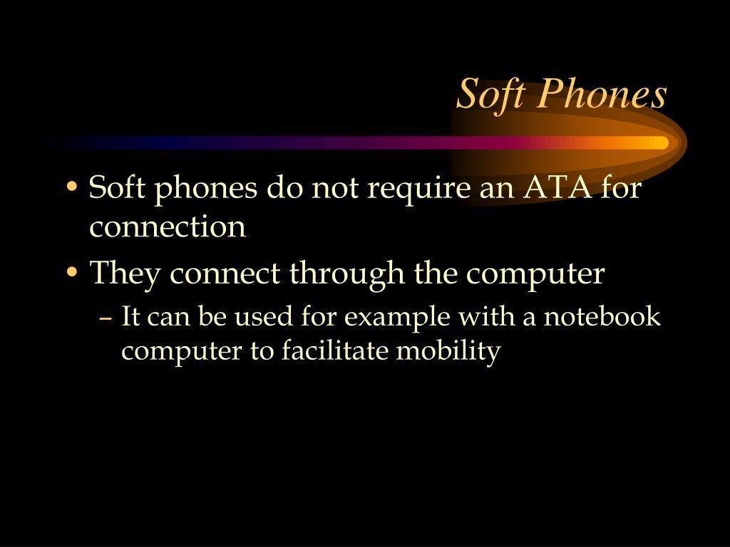 Soft Phones
