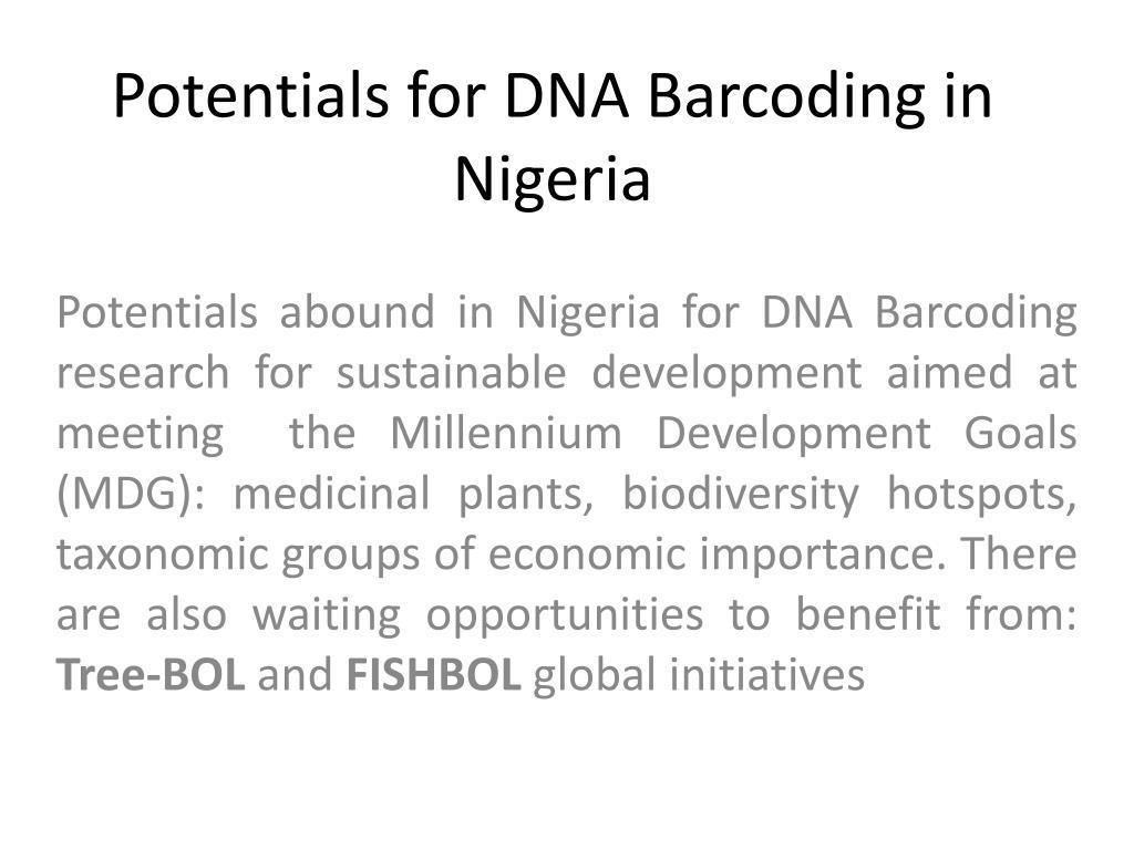 Potentials for DNA