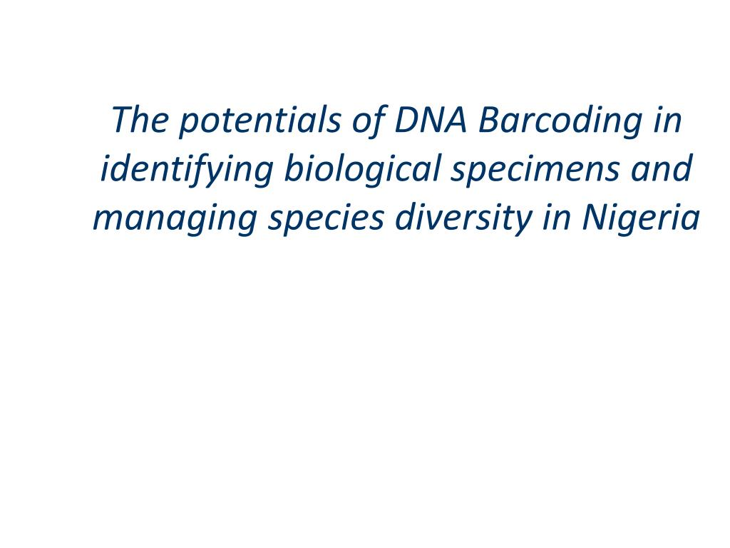 The potentials of DNA
