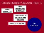 crusades graphic organizer page 12