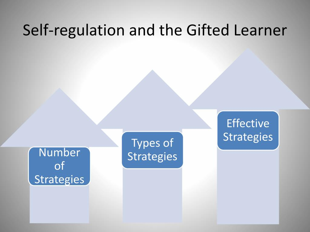 Self-regulation and the Gifted Learner