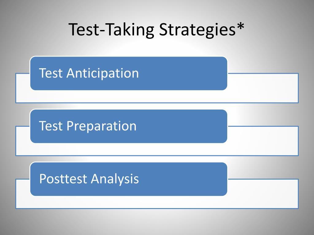 Test-Taking Strategies*