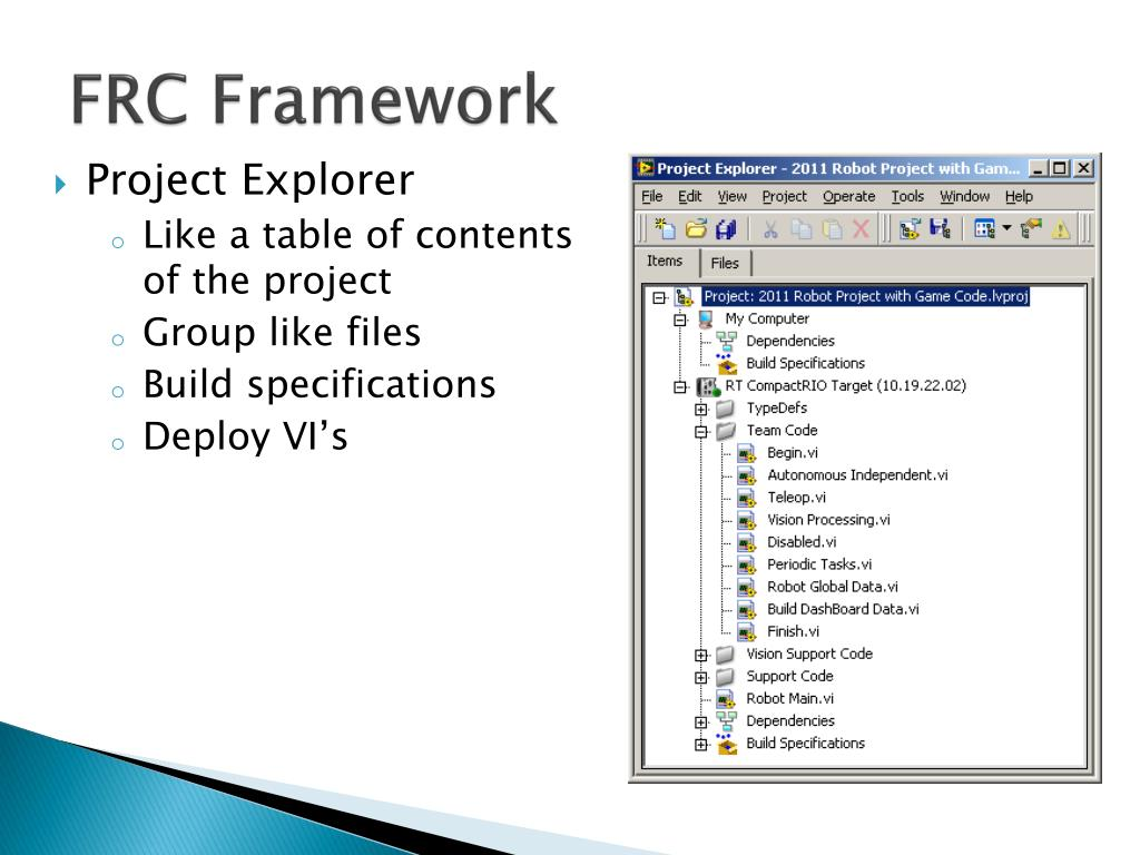 FRC Framework