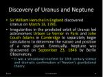 discovery of uranus and neptune