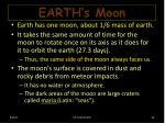 earth s moon