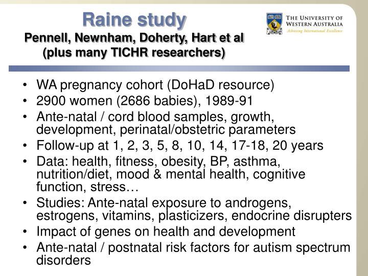 Raine study