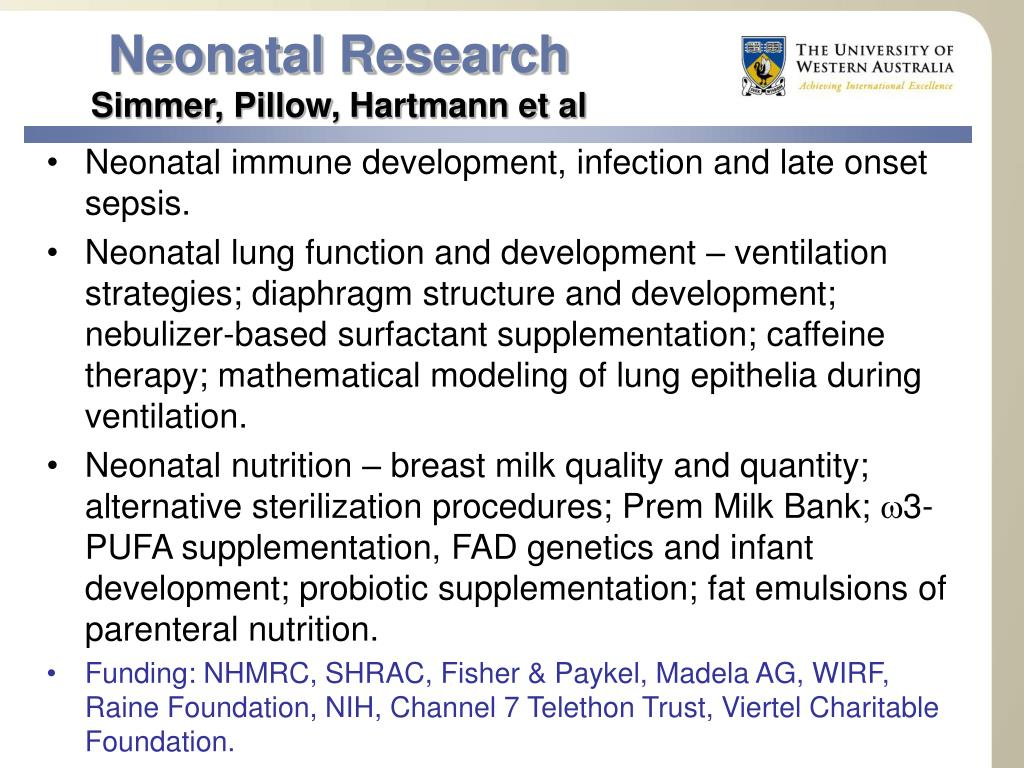 Neonatal Research