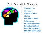 i brain compatible elements