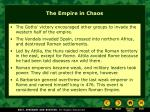 the empire in chaos