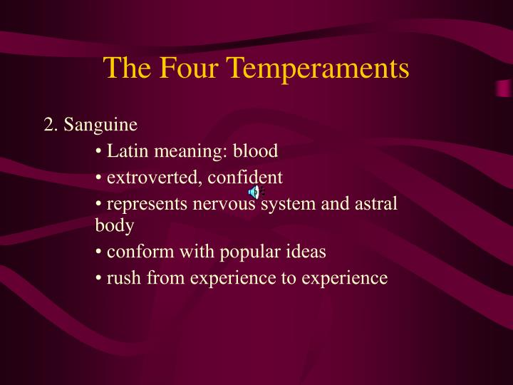 The four temperaments3