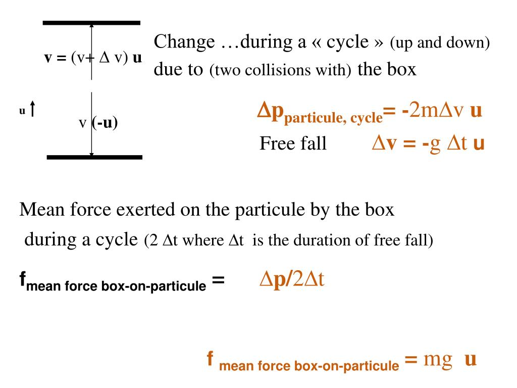 Change …during a « cycle »
