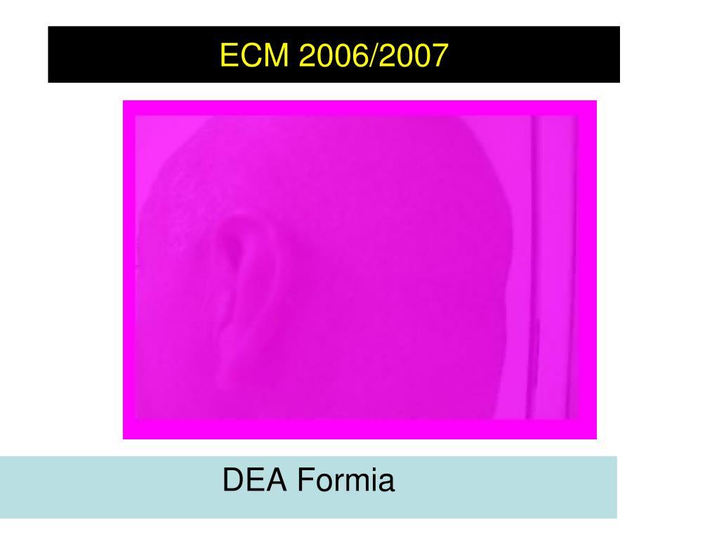 ecm 2006 2007 l.
