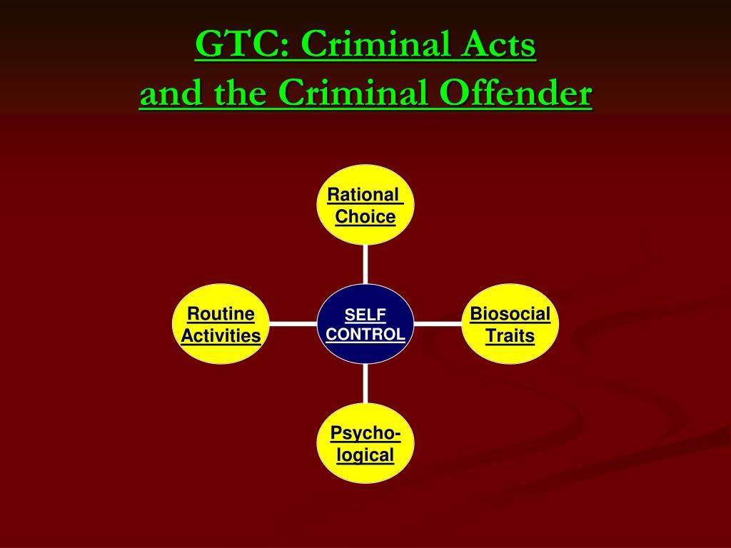 GTC: Criminal Acts