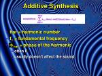 additive synthesis5