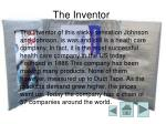 the inventor
