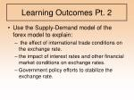 learning outcomes pt 2