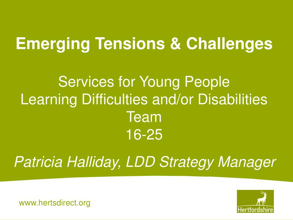 Emerging Tensions & Challenges