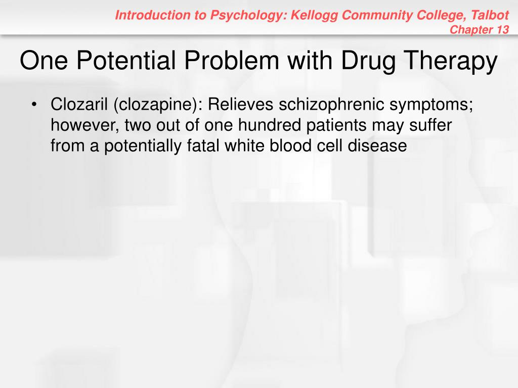 One Potential Problem with Drug Therapy