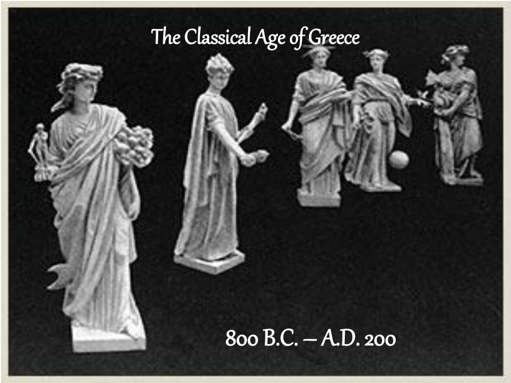 the classical age of greece l.