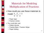 materials for modeling multiplication of fractions13