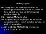 the language pl21