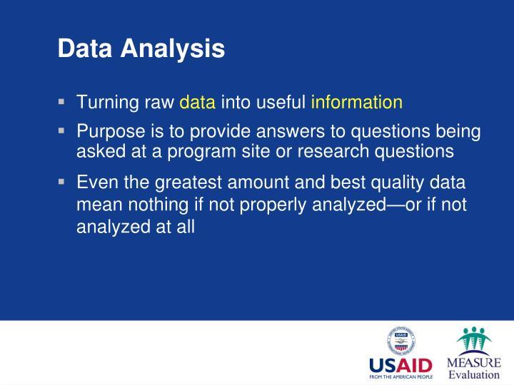Data analysis3